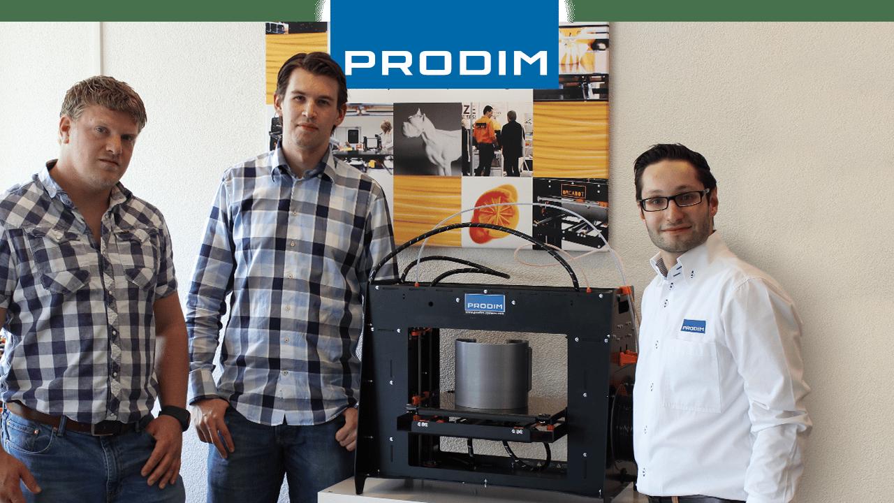 Prodim 3D Printer Benutzer Walraven