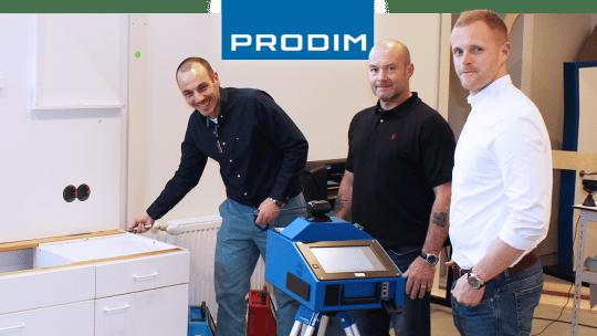 Prodim Proliner Benutzer CED Fabrication
