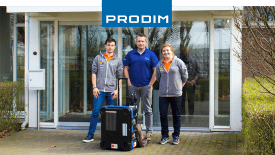 Prodim partner of Nuon Solar Team