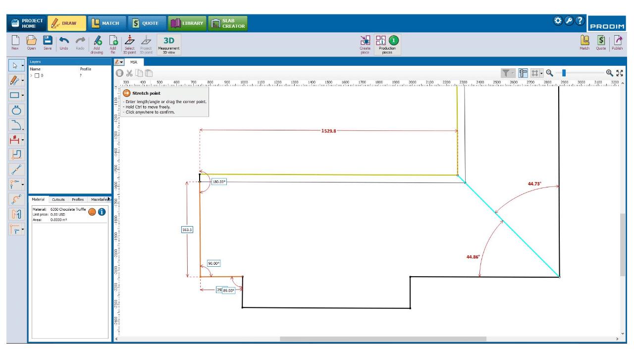 Screenshot - Prodim Factory Software - Draw