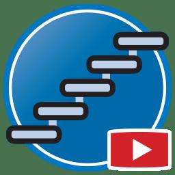 Schaltfläche, um Proliner- Videos von dass digital Erstellen von Templates für Treppen an zu sehen