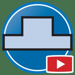 Schaltfläche, um Proliner- Videos von dass digital Erstellen von Templates für Rückwände an zu sehen