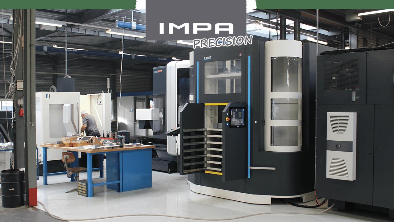 IMPA Precision - 3-Achsen- und 5-Achsen-Fräsmaschinen