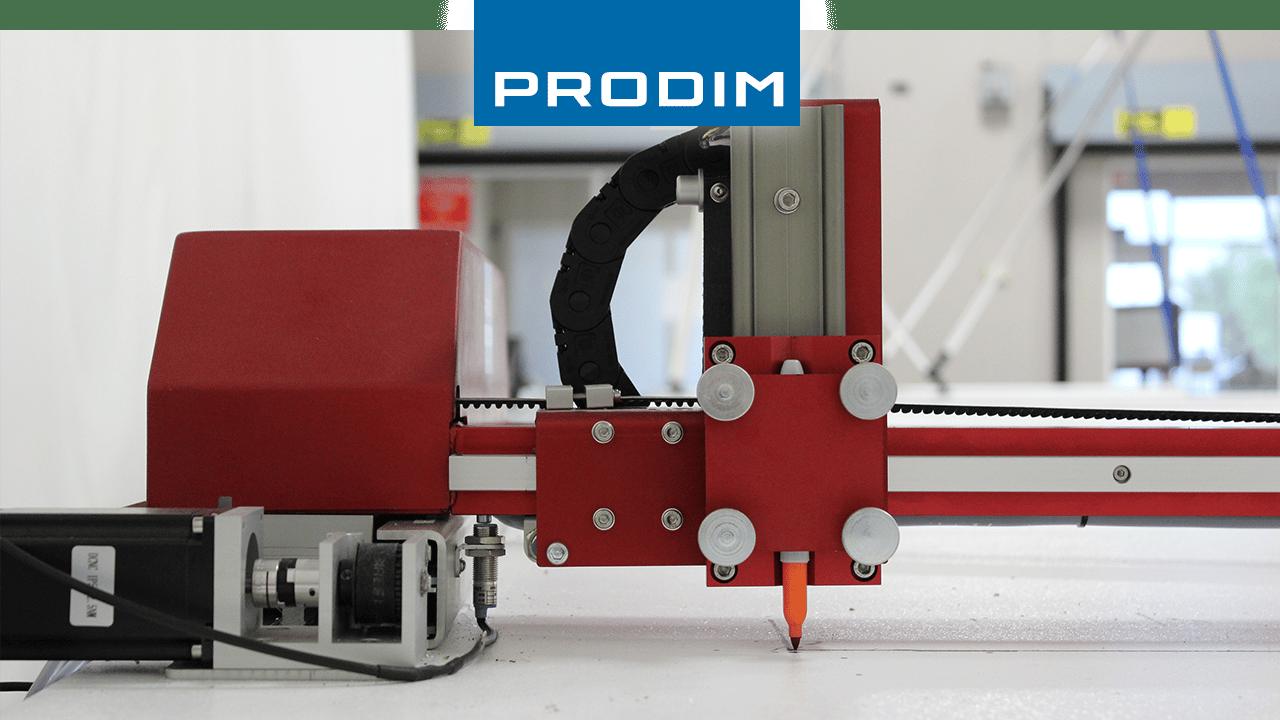 Prodim komplette digitale Template-Lösungen - Anwendungsbasierte Branchenwerkzeuge - Bild des Prodim Plotters