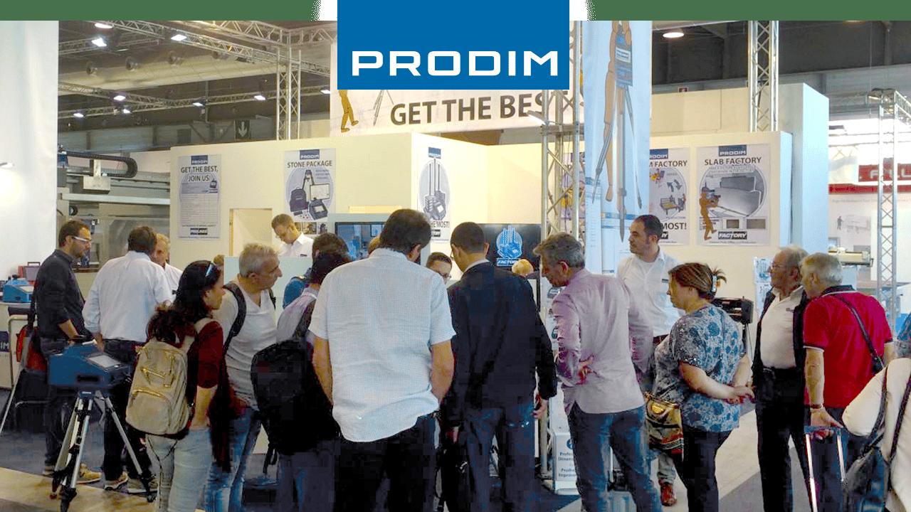 Prodim stellt auf der ganzen Welt aus - Marmomac Stone Fair, Italien