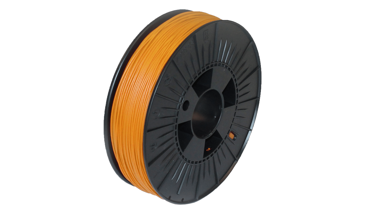 Prodim - Orcabot 3D Printer filament - PLA Orange sample
