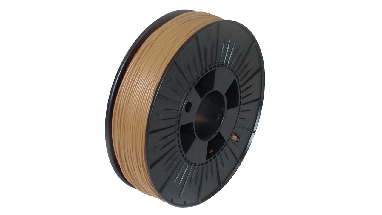 Prodim - Orcabot 3D Printer filament - Woodfill sample
