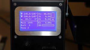 Prodim Orcabot XXL Pro 2 - Operating screen