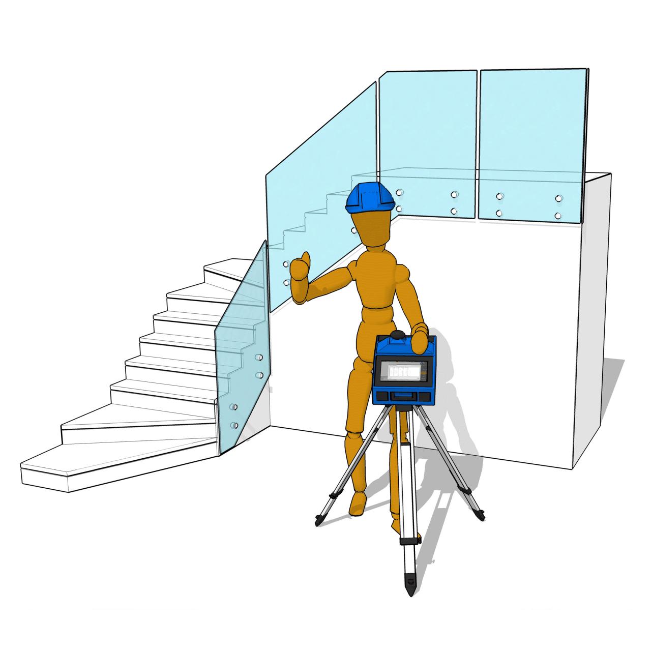 Prodim Proliner CS Survey - Legen Sie Ihren digitalen Plan fest
