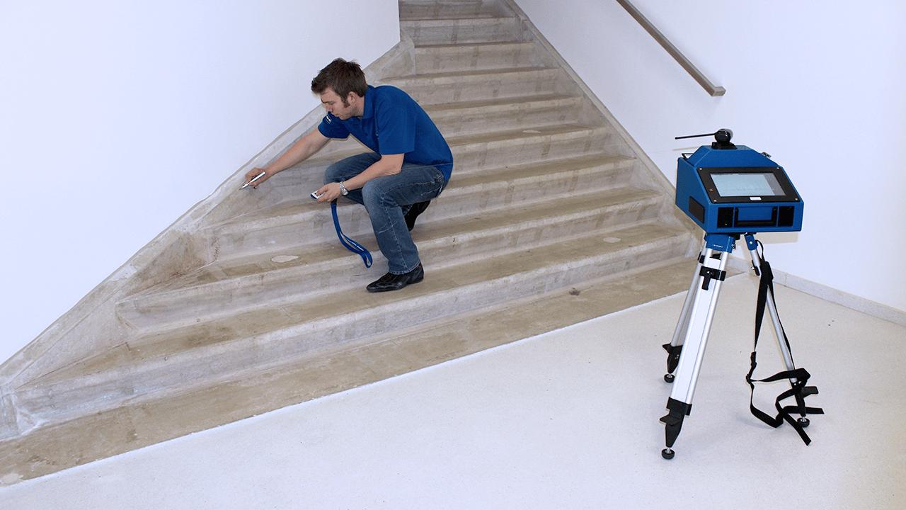 Prodim Steinindustrie Lösungen – Digitale Templates für Treppe