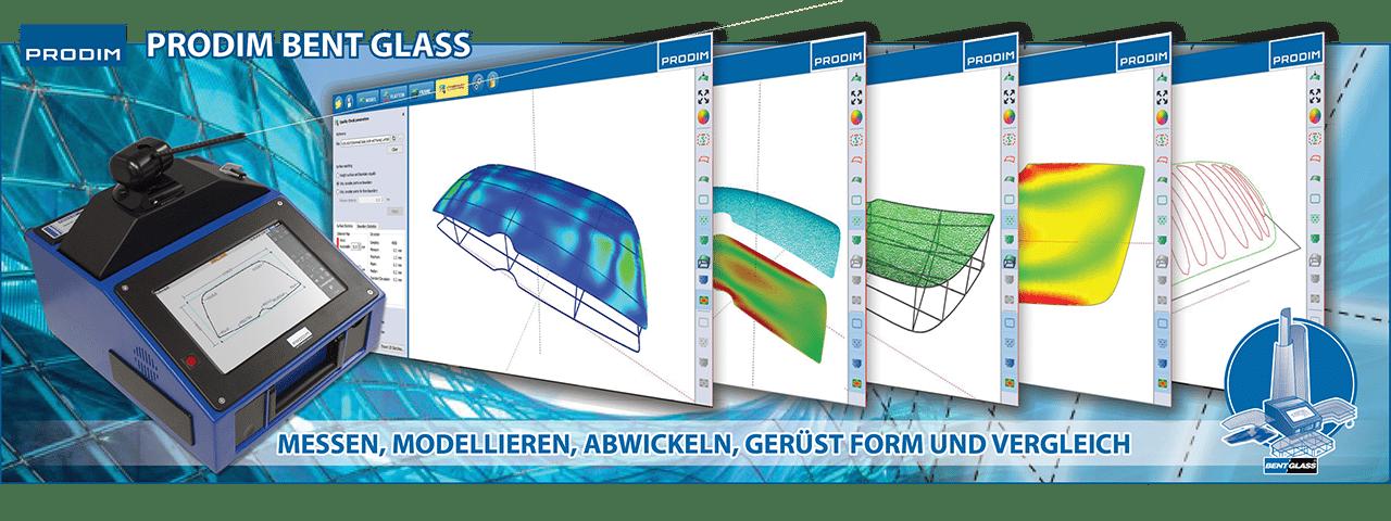 Slider - Prodim Bent Glass Software. Klicken Sie hier, um mehr Informationen zu erhalten