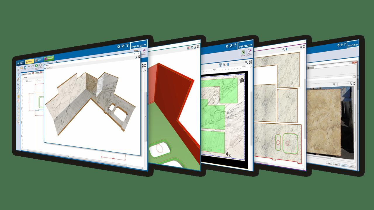 Prodim Factory Software - Steinindustrie