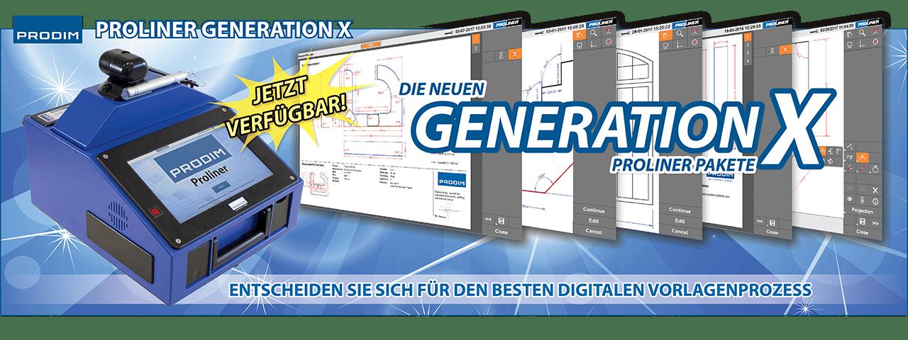 Slider - Prodim Proliner Generation X Pakete - Erhalten sie den besten digitalen vorlagenfluss