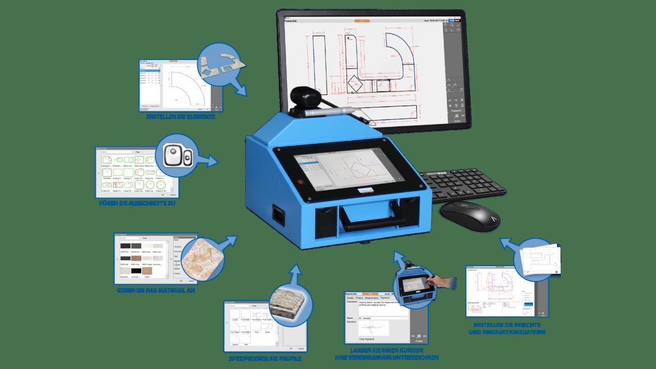 Prodim Proliner Stone CT Software