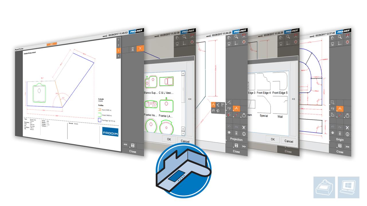 Prodim Proliner Software CT-App