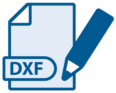 Icon - Proliner software generation 4X - DXF output formats