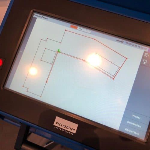 Prodim - Proliner - user - Garas - Naturstein - Digital Measurement