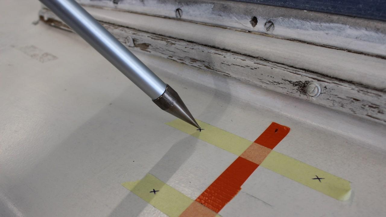 Proliner IPT - Point Pen - Für einfach messen hinten Hindernissen und rund Kanten