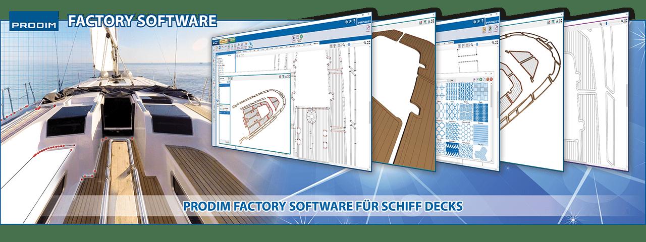 Prodim Factory Software fur Schiff Decks